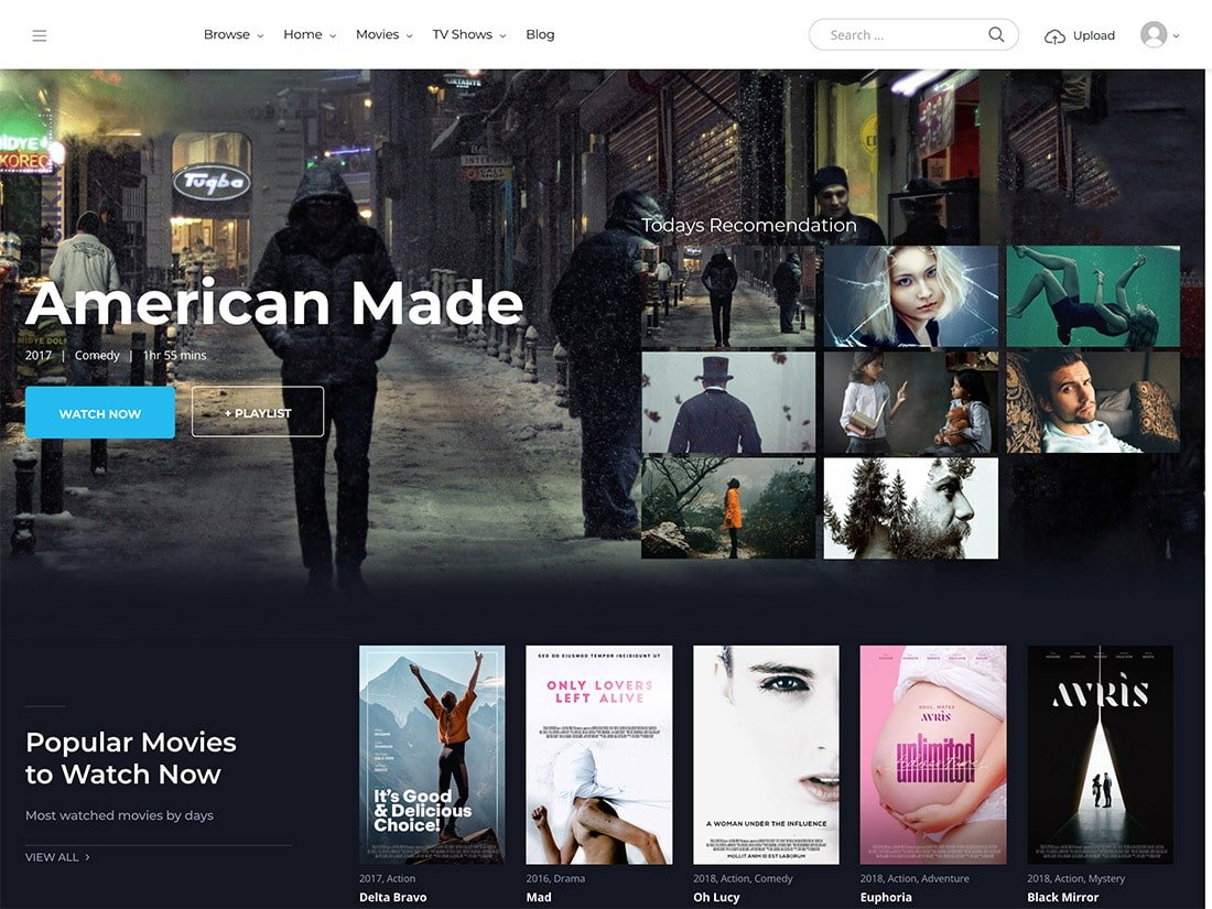 20 Best Video Wordpress Themes 2021 Athemes