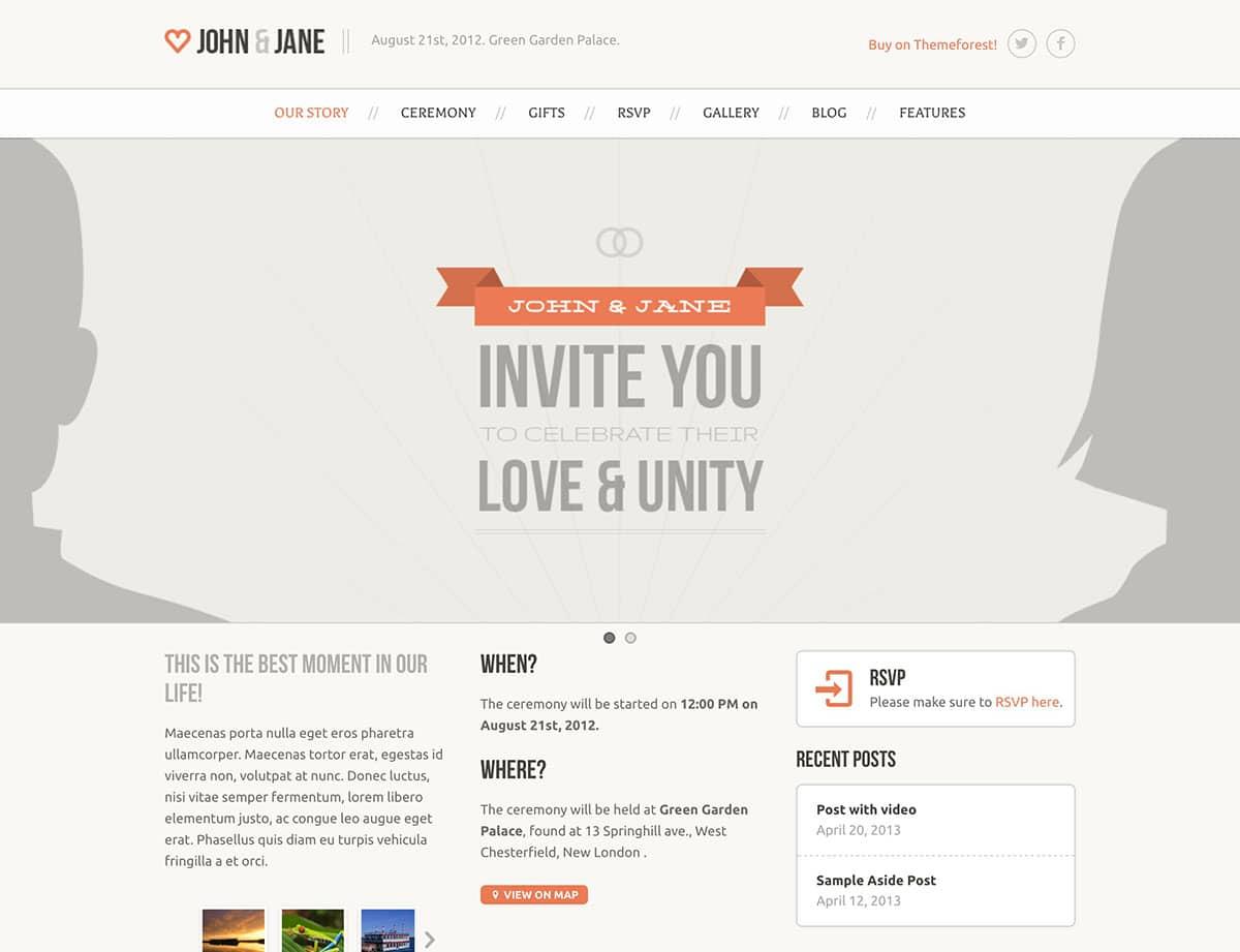 wedding-wordpress-theme