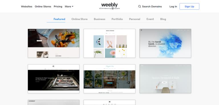 Weebly design