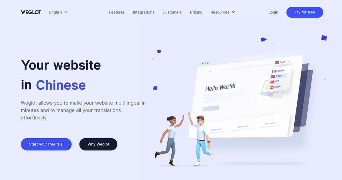 Weglot Translation Service