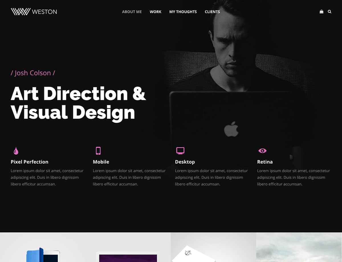 weston-freelancer-wordpress-theme