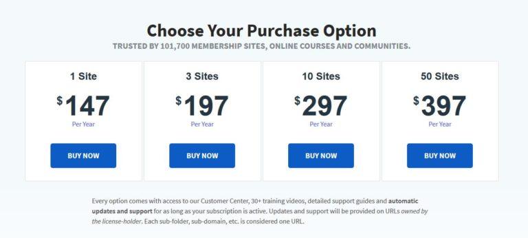 Wishlist Pricing Plans