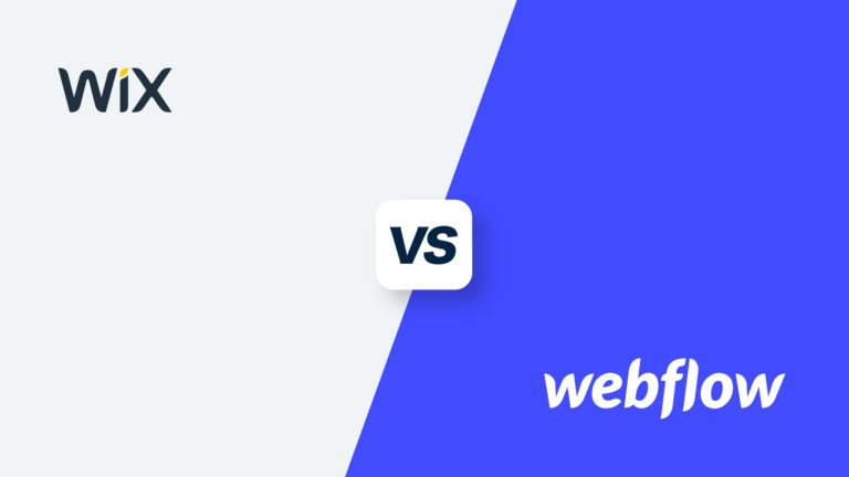 Wix vs Webflow, featured image