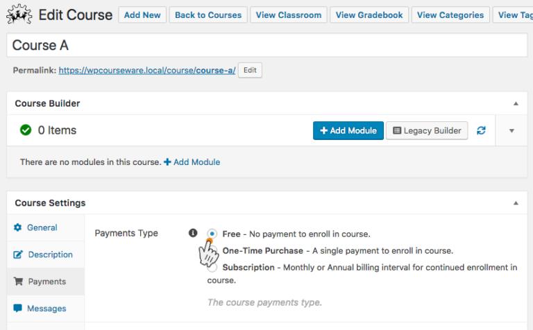 WP Courseware monetize