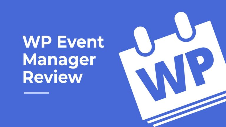 WP Event Manager Review, featured image