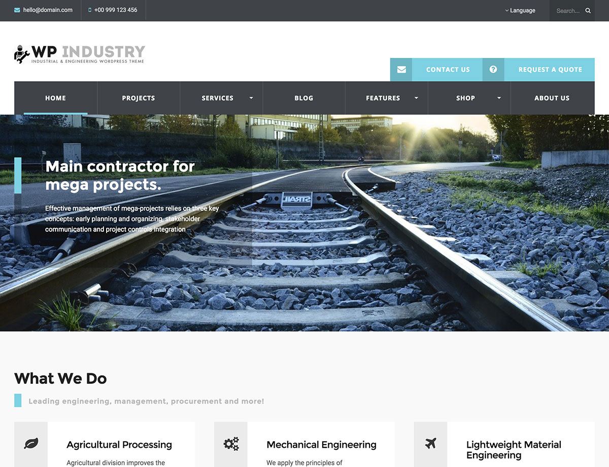 wp-industry-theme