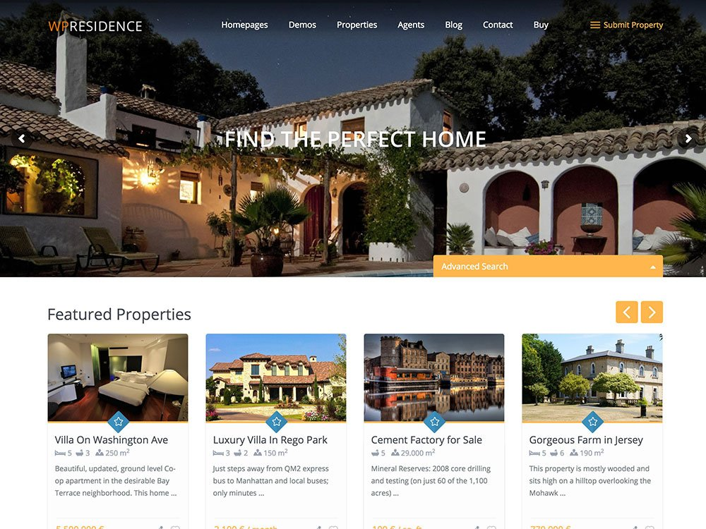 wp-residence-real-estate-theme
