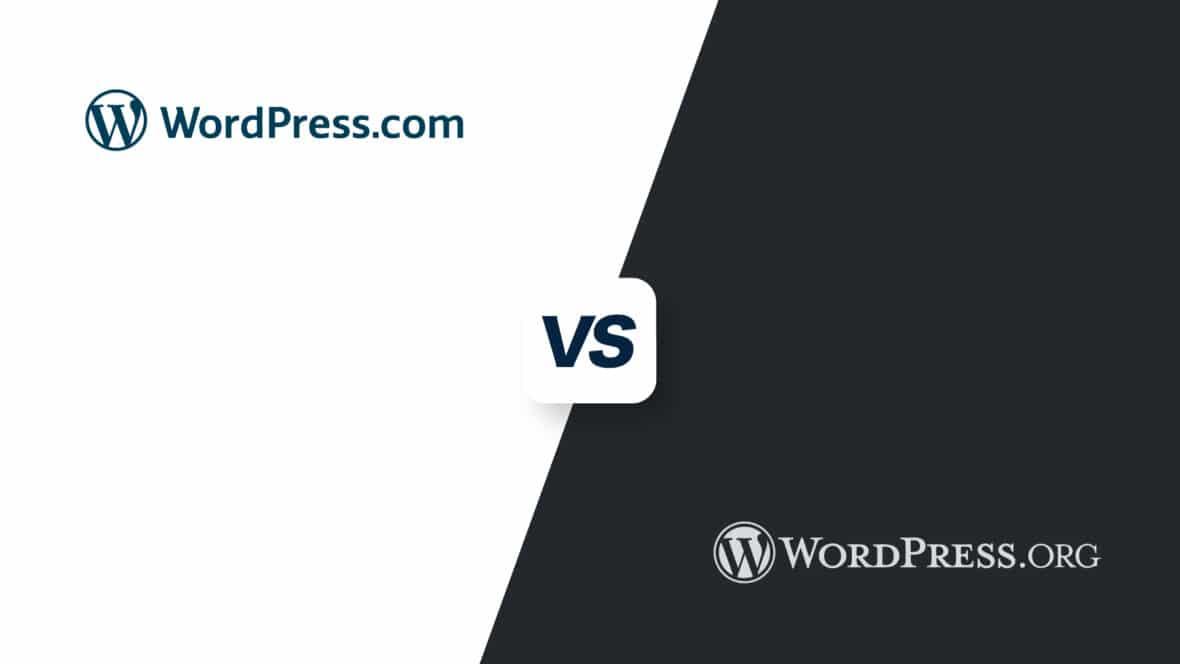 WordPress.com vs WordPress.org, featured image