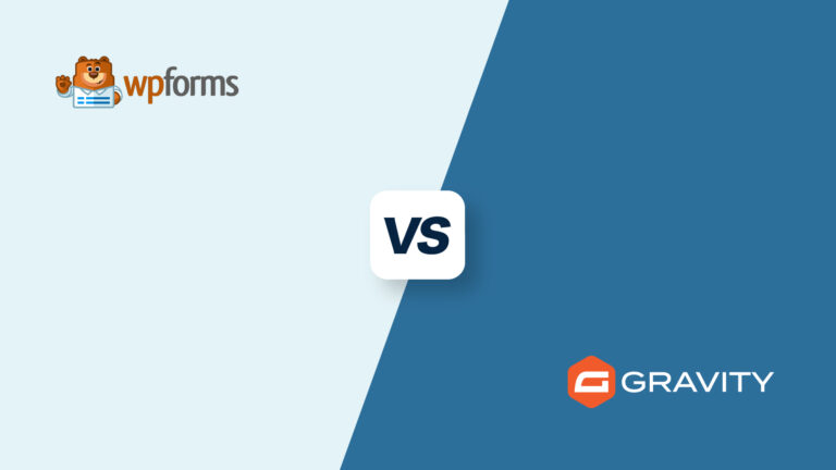 WP Forms vs Gravity Forms, featured image