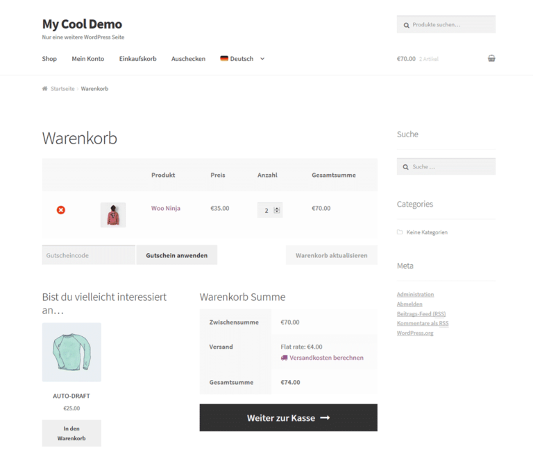 WMPL Translated Shop Page