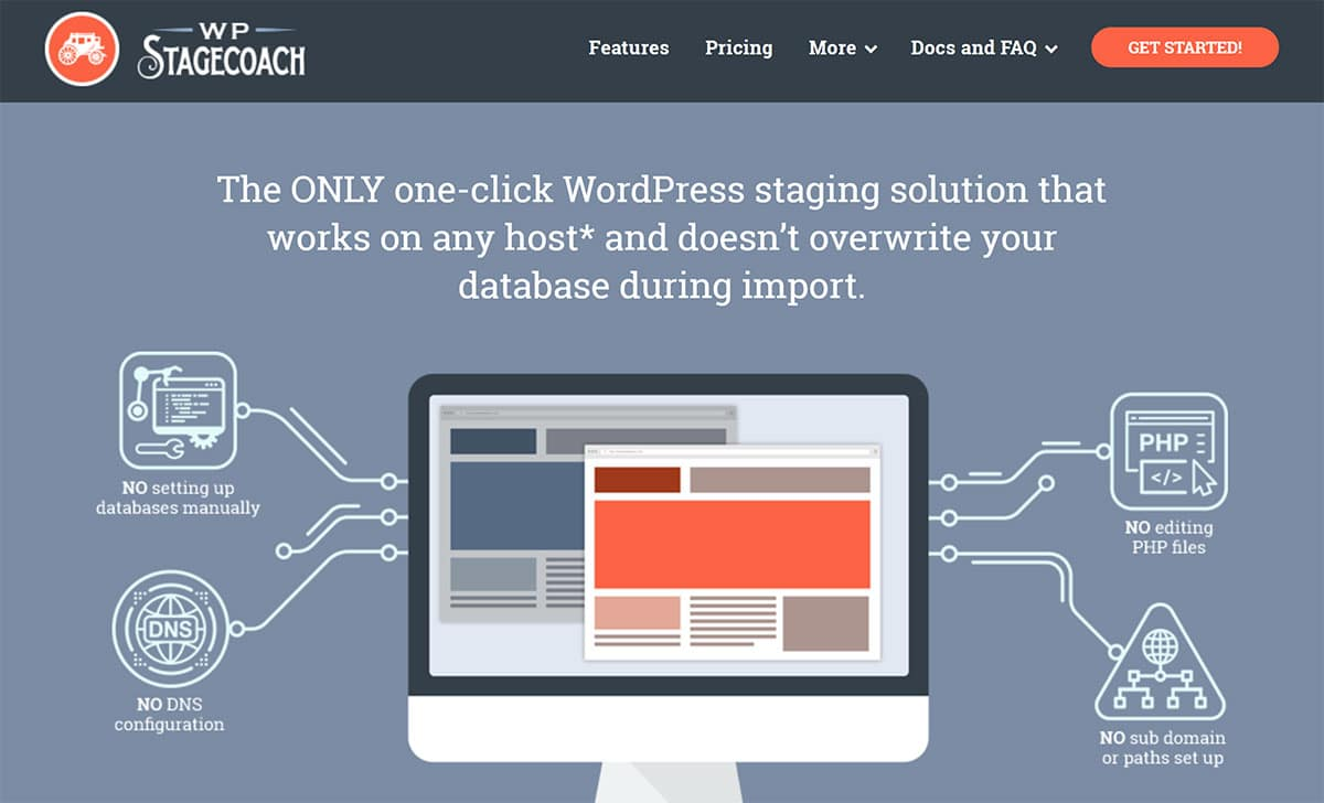 One-Click WordPress Staging Solution