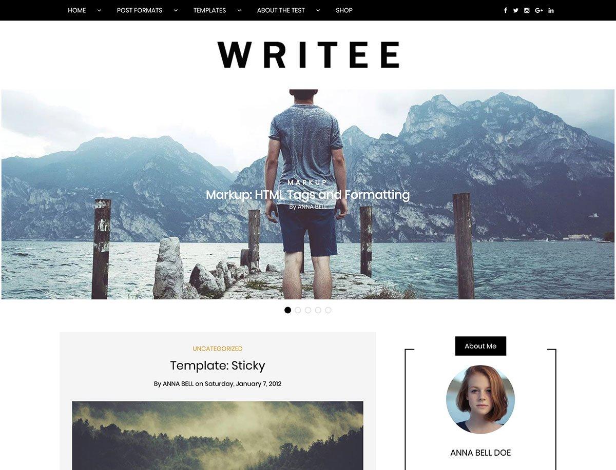 20+ Best Free WordPress Blog Themes 20   aThemes