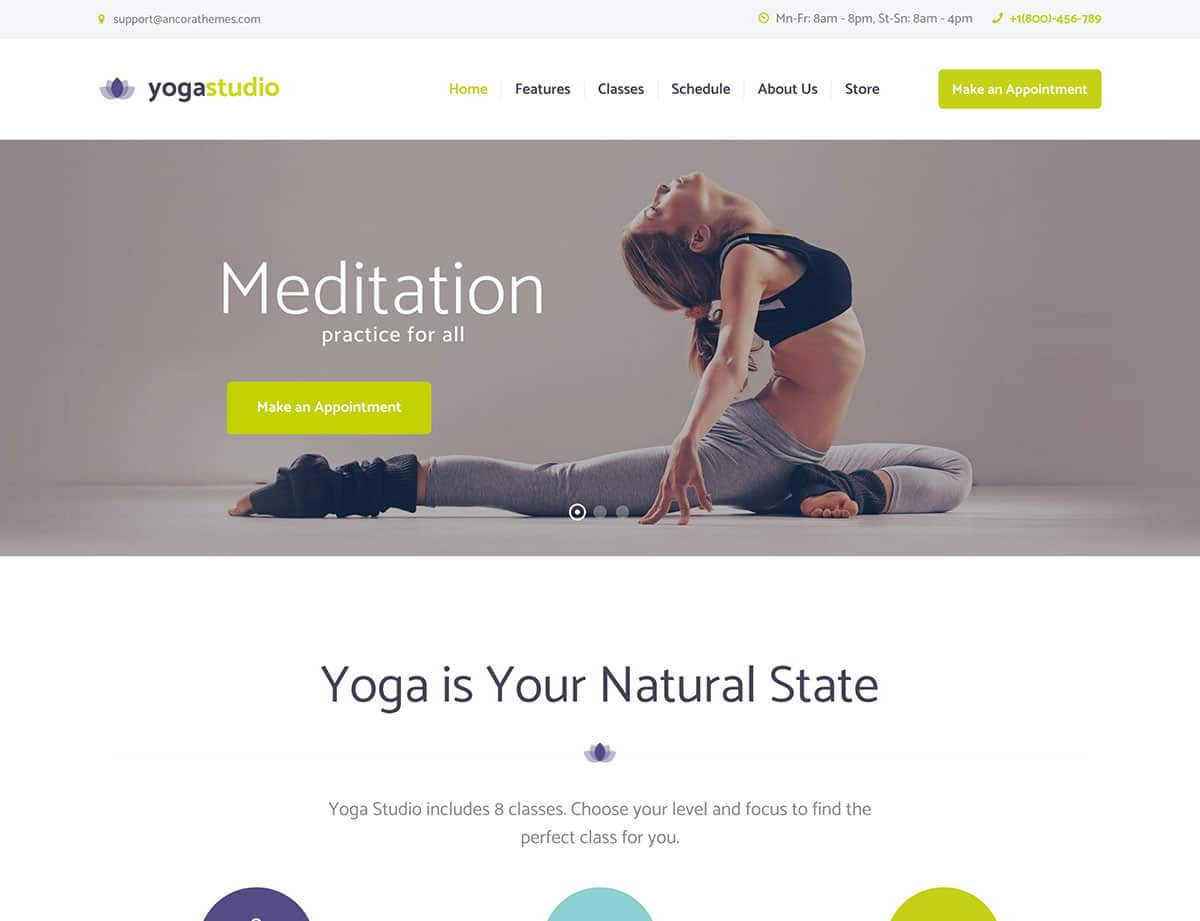 20 Best Yoga Wordpress Themes 2020 Athemes